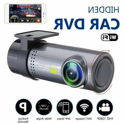 HD 1080p Wireless WIFI Mini Car DVR Camera Dash Cam G-Sensor