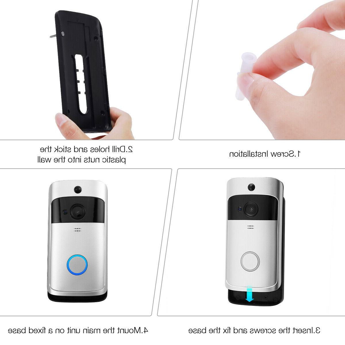 Wireless Smart Ring Security Bell