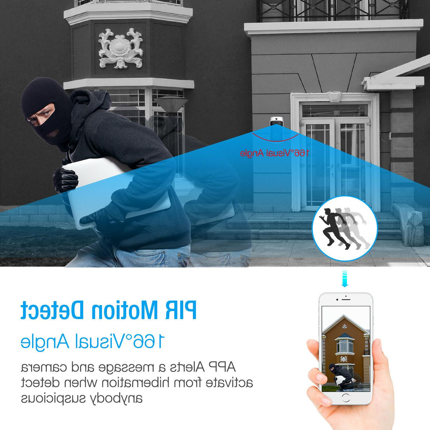 Wireless Video Smart Ring Security