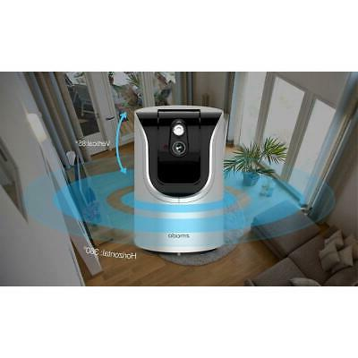Zmodo ZH-IZV15-WAC HD Pan Home Camera with 2-Way Audio