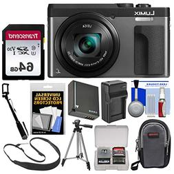 Panasonic Lumix DC-ZS70 4K Wi-Fi Digital Camera  with 64GB C