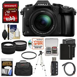 Panasonic Lumix DMC-G85 4K Wi-Fi Digital Camera & 12-60mm Le