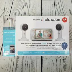 """Lux65 5"""" WiFi Baby Monitor with 2 Cameras Digital PTZ"""