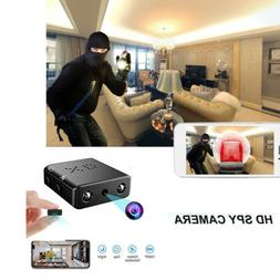 Mini Hidden Spy Camera Wireless HD Wifi 1080P Indoor Home Sm