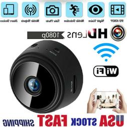 Mini Hidden Spy Cameras Wireless Wifi IP Home Security HD 10