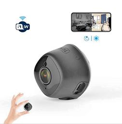 Mini Hidden WiFi Camera 1080P HD for Home Security with Nigh