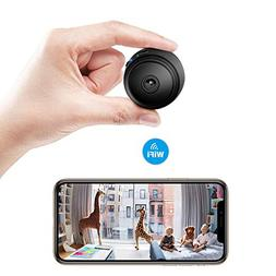 Sonkir Mini Camera Full HD 1080P WiFi Wireless Remote Portab