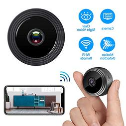 Mini Hidden Camera WiFi, Spy Camera HD 1080P Night Vision Mo