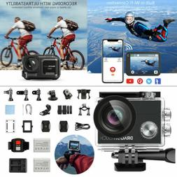 Dragon Touch Native Wifi 4K Ultra HD Sport Action Camera Wat