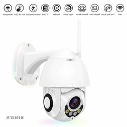 Outdoor 1080P Wireless WIFI IP Camera 2MP PTZ Night Vision H