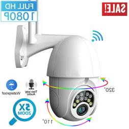 outdoor waterproof wifi ptz pan tilt 1080p