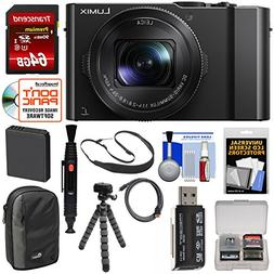 Panasonic Lumix DMC-LX10 4K Wi-Fi Digital Camera with 64GB C