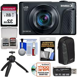 Canon PowerShot SX740 HS Wi-Fi 4K Digital Camera  with 32GB