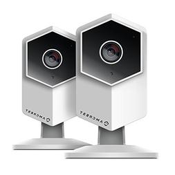 2-Pack Amcrest UltraHD Shield 2K  Dual-Band WiFi Video Secur