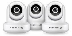 Amcrest 3-Pack ProHD 1080P WiFi/Wireless IP Security Camera