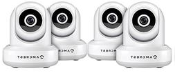4-Pack Amcrest ProHD 1080P WiFi Wireless IP Security Camera