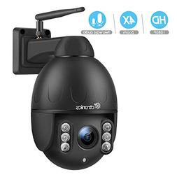 Ctronics PTZ Camera Outdoor,1080P WiFi Security IP Camera,Pa