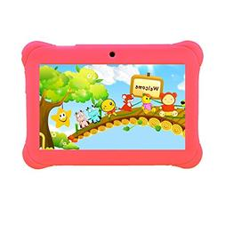 "Tagital 7"" Quad Core Android Kids Tablet, with Wifi and Came"