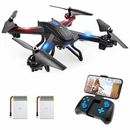 SNAPTAIN S5C WiFi FPV Drone with 720P HD Camera Voice Contro