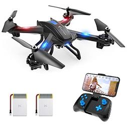 SNAPTAIN S5C WiFi FPV Drone with 720P HD Camera,Voice Contro
