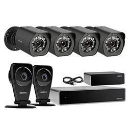 Zmodo Full HD 1080p Security Camera System w/Repeater, 4 x 1