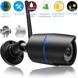 Security Wireless WIFI IP Audio Camera HD IR 1080P Outdoor