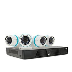 EZVIZ Smart Home 1080p Security Camera System, 4 Weatherproo