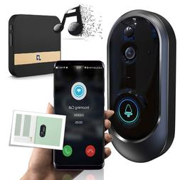 Smart WiFi Doorbell Wireless IR Video Camera WiFi Door Bell