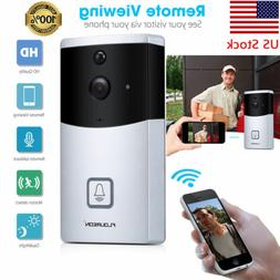 Smart Wireless Wi-Fi Doorbell Cameras Video Intercom Home Se