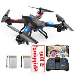 Snaptain S5C Wifi Fpv Drone With 720P Hd Camera, Voice Contr