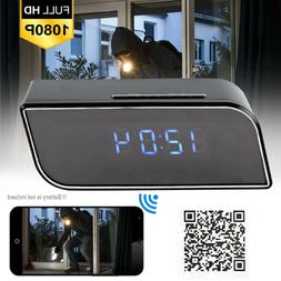 spy camera clock wifi hidden wireless night