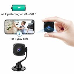 Spy Camera Wireless Hidden Small Tiny Security Cameras 1080P