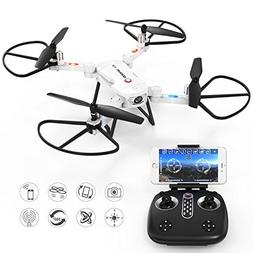 GoolRC T32 FPV Drone Foldable with Wifi Camera Live Video He