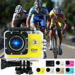 "Ultra 4K 2"" Full HD 1080P Waterproof Sports Camera Wi-Fi Act"