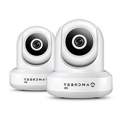 2-Pack Amcrest UltraHD IP3M-941W 2K  WiFi IP Camera w/Pan/Ti