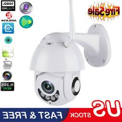 US 1080P WIFI IP Camera WHITE Wireless Outdoor CCTV HD Home