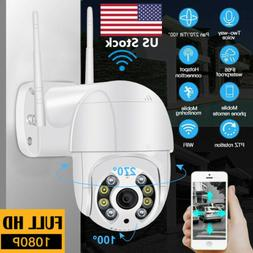 ICSEE 1080P PTZ Security WIFI Camera Waterproof Outdoor Wire