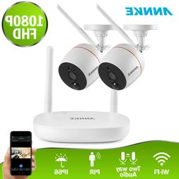 wireless 1080p mini 4ch nvr 2x 2mp