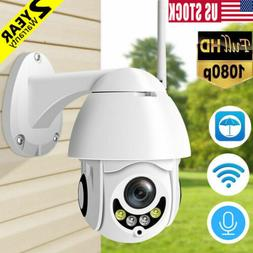 USA Wireless Outdoor HD 1080P WIFI Camera Dome IR Night Visi
