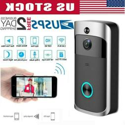 Ring Video Doorbell Wi-Fi Enabled Smart Phone HD Night Visio