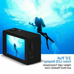 Wifi 1080P 4K HD Sport Action Camera DVR DV Camcorder Waterp