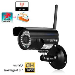 WiFi 720P IP Camera Home Security Home Outdoor Night Vision