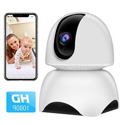 WiFi Camera, 1080P Wireless IP Home Security Surveillance Ca