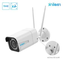 Reolink Wifi Camera 5MP Bullet 2.4G/5G 4x Optical Built-in M