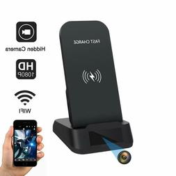 Wifi Hidden Camera with Wireless Phone Charger 1080p Securit