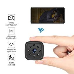 WiFi Camera,Ansteker 1080P Mini Portable Wireless WiFi Secur