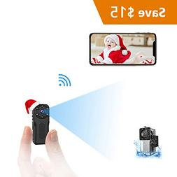 WiFi Waterproof Mini Spy Hidden Camera, NIYPS HD 1080P Cover