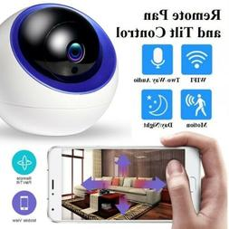Wireless 1080P HD WIFI IP Space Ball Home Baby Pet IR Monito