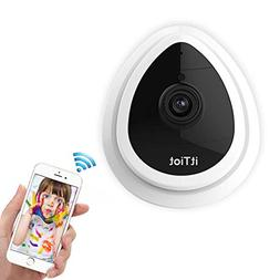 Wireless IP Camera, WiFi Security IP Camera, HD 720P Home Ca