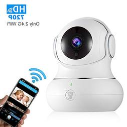 720P Indoor Wireless WiFi Home IP Security Camera - Littlelf